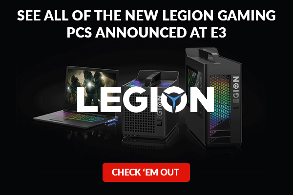 Check out the new Legion gaming PCs announced at E3!